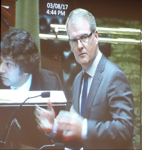 Deputy Opposition Leader, Shadow Minister for Housing and Infrastruture, Michael Daley.