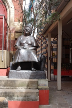 Mum Shirl's statue, between Jarjum College and St Vincent's Catholic Church Redfern