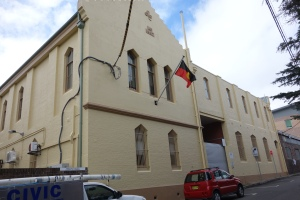 Rear of the Aboriginal Medical Service, Redfern
